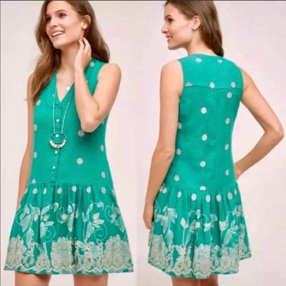 Maeve for Anthropologie Phippa Swing Dress